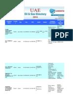 Uaeoil&Gasdirectory list