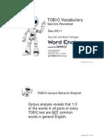TOEIC Vocabulary - Secrets Revealed Dec 16.11.2v