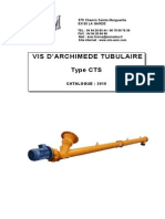 Vis d'Archimede Tubulaire