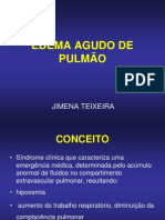 Edema Agudo do Pulmão