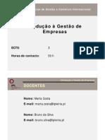 Apresentação UC Introdução à Gestão CET 2013_14
