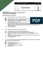 Final Exam Phyiscs