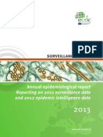 Annual Epidemiological Report 2013