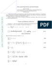 A Short Table of Generating Functions and Related Formulas (February 3, 2011) Robert M. Ziff