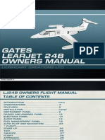 Learjet Manual