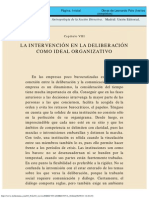 Antropología de La Acción Directiva - Capítulo 8