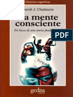 Chalmers David John - La Mente Consciente - En Busca de Una Teoria Fundamental