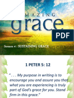 AMAZING GRACE - Sermon 4 Sustaining Grace