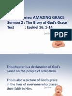 Amazing Grace 3 the Glory of God's Grace