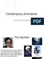contempory animators
