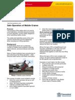 Mobile Crane Tech Guide Note