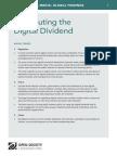 Distributing the Digital Dividend - Mapping Digital Media Global Findings