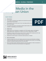Digital Media in the European Union - Mapping Digital Media Global Findings