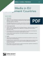 Digital Media in EU Enlargement Countries - Mapping Digital Media Global Findings