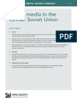 Digital media in the former Soviet Union - Mapping Digital Media Global Findings