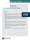 Digital Media in South-East Asia - Mapping Digital Media Global Findings