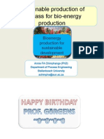 Sustainable Production of Biomass - Bioenergy Course 2014edited