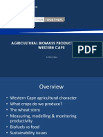 Biogas Production in the Western Cape