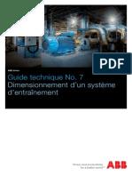 DIMENSIONNEMENT SYS D'ENTRAINEMENT.pdf
