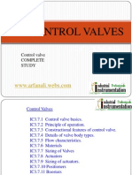 Control Valves Complete Study