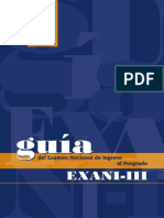 Guia Del Exani-III