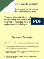 speech marks grammar lesson