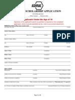 ASHRAE Scholarship Application 2014