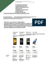 Asus Zenfone 5 16GB A500..