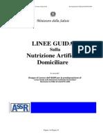 Linee_Guida Nutrizione Artificiale Domiciliare 2006