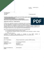 SD50 CAR Authorisation (17.12.07)