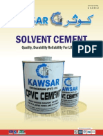 PVC, CPVC Solvent, Primer and Cleaner
