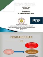 PPT Prurigo Hebra Case