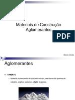 Aula_3_Materiais de Construcao I-Aglomerantes-Cimento