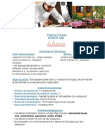 Projet Du Restaurant - Copie