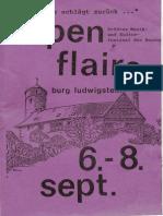 Programmheft 1985