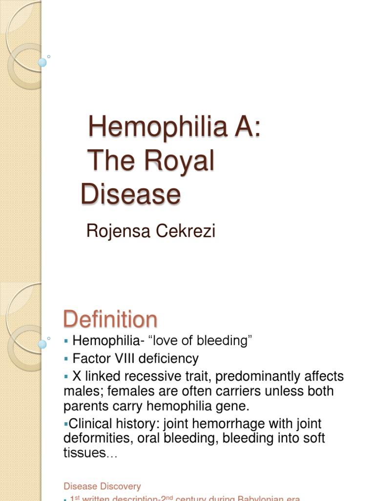 hemophilia a   haemophilia   coagulation
