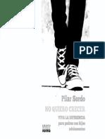 No Quiero Crecer - Pilar Sordó