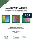 Halesowen Conservation Management Plan