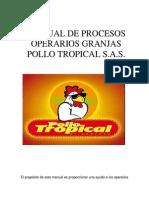 Manual de Procesos Tropical Definitivo