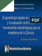 ABP en Quimica