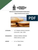Proy. Inti 2014 - Alfajor de Arroz Con Quinua (1)