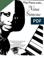Nina Simone Play Piano With
