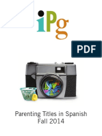 Fall 2014 IPG Parenting Titles in Spanish