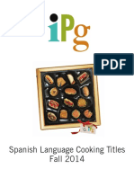 Fall 2014 IPG Spanish Language Cooking Titles