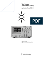 Agilent Time Domain Reflectometry