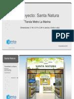 PRIDG Santa Natura - Tienda Metro La Marina - 05