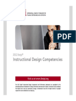 IBSTPI Competencies 2012