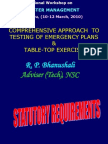7&8-Comprehensive Approach to Testing of Emergency Plans