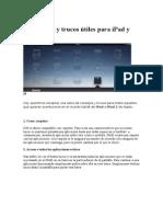 50 Consejos y Trucos Útiles Para iPad y iPad 2