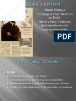 voyages de jacques cartier